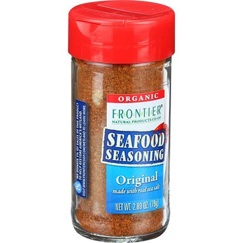 Frontier Herb Seafood Seasoning - Organic - Blackened - Blend of Flavorful Spices - Vegan - 2.5 oz