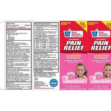 Good Neighbor Pharmacy Acetaminophen Oral Suspension