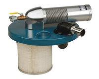 NORTECH N301BC-NED Pneumatic Vacuum,15 HP,30 gal,89 cfm