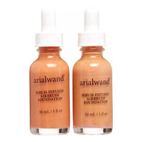 Arialwand Serum Infused Foundation Duo, Mocha & Natural Bronze, 2 Ct