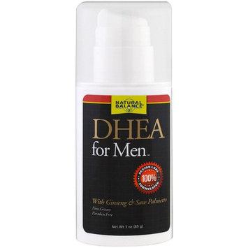 Natural Balance, DHEA For Men Cream, 3 oz (85 g)