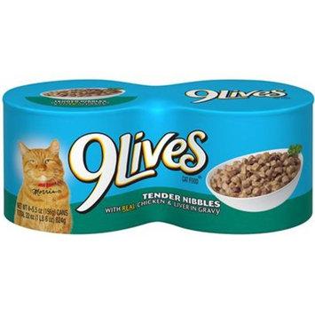9 Lives Tender Chicken & Liver In Gravy Dinner