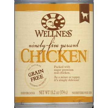 Wellness Dog Food, Chicken, 13.2 Oz, 12-Pack