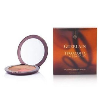 Guerlain Terracotta 4 Seasons Tailor Made Bronzing Powder - # 08 Ebony By Guerlain for Women - 0.35 Oz Powder, 0.35 Oz
