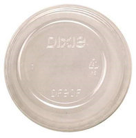 DIXIE DF9OF Dome Lid,9 oz, Clear, PK1000