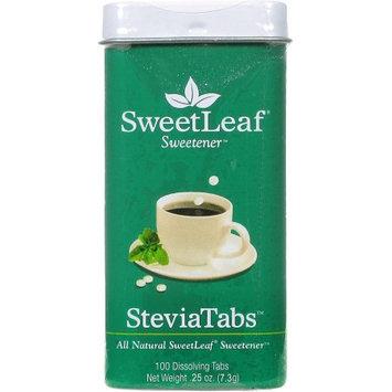 SweetLeaf Sweetener SteviaTabs Dissolving Tabs, 100 count