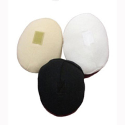 Softee BFVWXL504 Poly-Fil Breast Forms w/ Velcro-White-XL