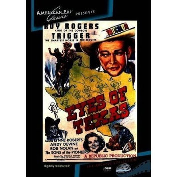 American Pop Classics/allied V Eyes Of Texas DVD (Black & White; Standard Screen; Soundtrack English)