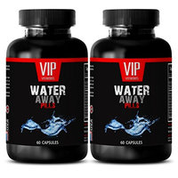 Anti bloating pills - WATER AWAY DIURETIC PILLS - Potassium Dietary Supplement - 2 Bottles 120 Capsules