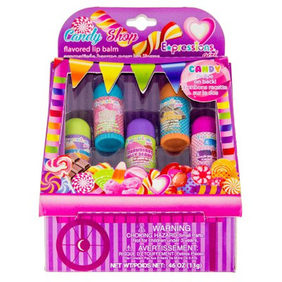 Expressions Girl Soda Shop Lip Balm, 5 Ct