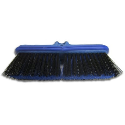 Ettore Scrubbing Brushes Water Flow Thru Flo-Brush Scrub for Extend-A-Flo Wash Brush Handle 59100