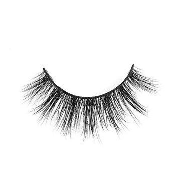 3D Mink Fur Fake Eyelashes Natural Looking False Lashes for Women's Makeup 1 Pair Package S107