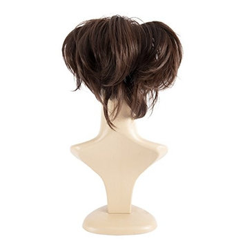 Adjustable Style Claw Thick Wavy Curly Messy Pony Tail Hairpiece Updo Style Jaw Claw Ponytail Clip In Hair Extensions Amzing Shape