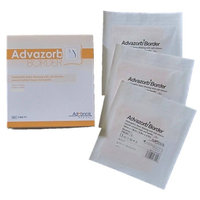 Advazorb Border Hydrophilic Foam Dressing (Pack of 3) 4 inch x 4 inch