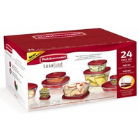 Rubbermaid Easy Find Lids Food Storage Containers, Racer Red, Set of 24 7J98 [1]