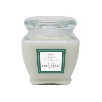 The Soi Company Soi Candles Eucalyptus Sage 16oz Jar Candle