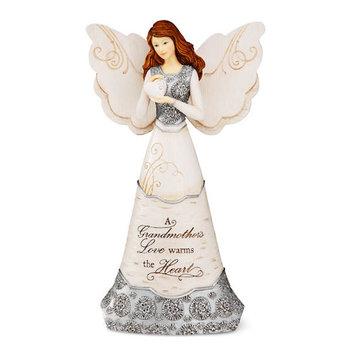 Pavilion Gift Company Elements 82297 Grandmother Angel Figurine