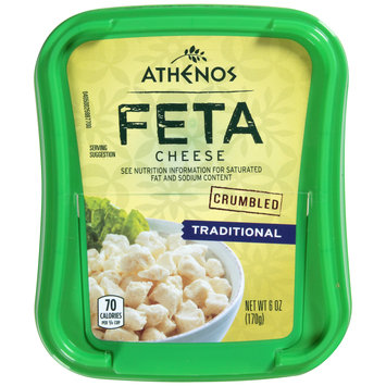 Athenos Crumbled Traditional Feta Cheese
