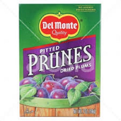 Del Monte Pitted Prunes Dried Plums