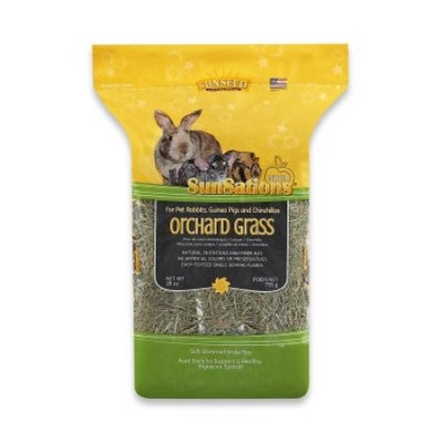 Animal Supply Company SN36073 Sunsations Natural Orchard Grass - 28 oz.