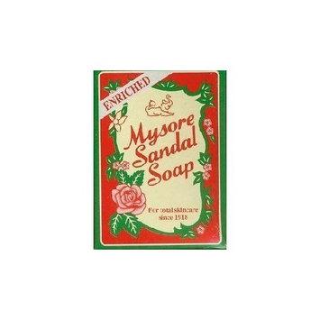 Mysore Sandalwood Enriched Sandal Soap 125g (Pack of 3)