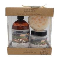 Upper Canada 579304 Exotic Retreats Bath Trio Gift Set