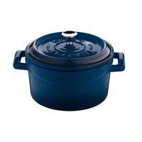 Cuisine 44201B12 Mini Pan Pot 12 cm, Blue
