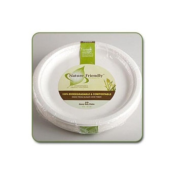 Biodegradable 10 inch Classic Round Plate (Pack of 25)