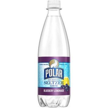 Polar Seltzer Water, Blueberry Lemonade, 20 Fl Oz, 24 Count