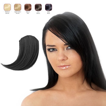 Buy 2 Hollywood Hair Sweeping Side Fringe and get 1 Free - Bold Black (Pack of 3)