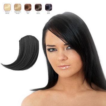 Hollywood Hair Sweeping Side Fringe - Bold Black