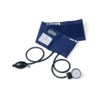 Medline MDS9386 Aneroid Blood Pressure Unit, PVC Tubing, Hand Held, Latex, Infant, Black [Aneroid Blood Pressure Unit, PVC Tubing, Hand Held]
