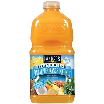 Langers Juice Drink, Island Blend, 64 Fl Oz