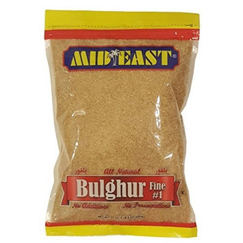 Mid East Bulgur Fine #1 24 oz (680g)