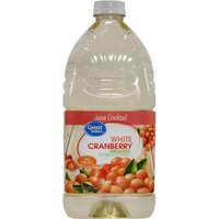 Great Value White Cranberry Juice Cocktail, 64 oz