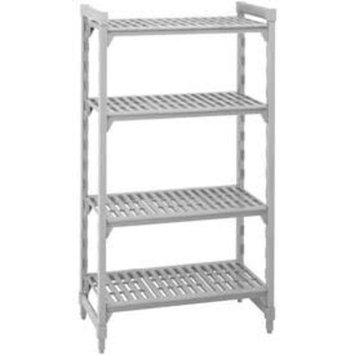 Cambro Camshelving Premium CPU244864V4480 Shelving Unit with 4 Vented Shelves 24