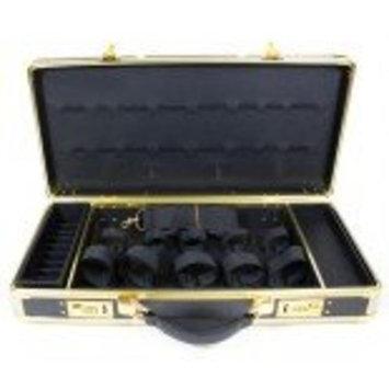 HairArt Barber Case Black & Gold Frame, #791530 Barber Kit Tool Case, Black & Gold, Tools Not Included