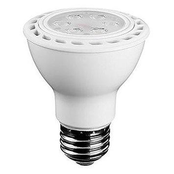 Euri Lighting Lightbulbs 50W Equivalent White PAR20 Dimmable LED Flood Light Bulb EP20-1050ew