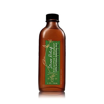 Bath & Body Works Nourishing Body Oil (STRESS RELIEF- Eucalyptus Spearmint)