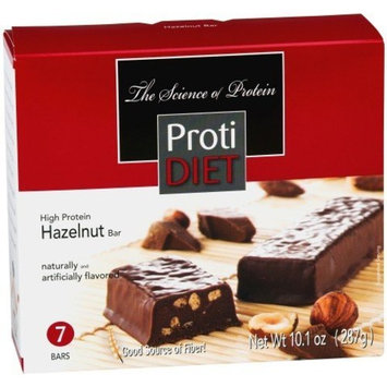 ProtiDIET Delicious Protein Bar | Nutritious Low Fat & Carb Snack With High Vitamins & Minerals | | Healthy & Energizing Small Meal | Assists In Weight Loss (Hazelnut Chocolate)