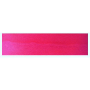 Kenz Laurenz Cotton Headband Soft Stretch Headbands Sweat Absorbent Elastic Head Band Neon Pink