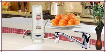 Crystal Quest Countertop Arsenic Water Filter System Single-Stage