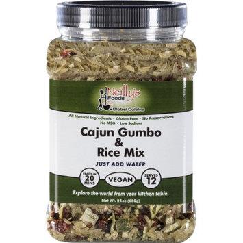Neilly's Food 24 oz Cajun Gumbo rice mix