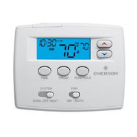 White Rodgers Emerson 1F80-0261 Single Stage 5/1/1 Programmable Digital Thermostat []