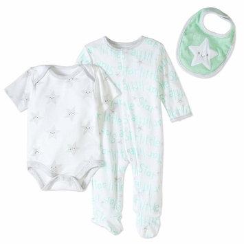 born Baby Boy or Girl Unisex Take-Me-Home, 3pc Set