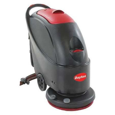 Dayton Floor Scrubber (Wlk-Bhind, 120VAC/60Hz, Disc). Model: 40PM20