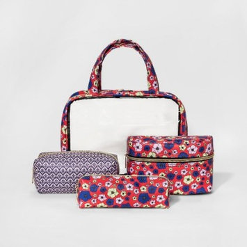 Under One Sky Floral Travel Set - Red