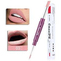 Creazy CmaaDu Double-end Lasting Lipliner Waterproof Lip Liner Stick Pencil 6 Color