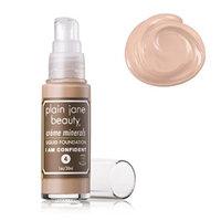 Plain Jane Beauty 232006 I Am Confident 4 Creme Minerals Liquid Foundation