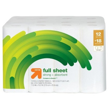 Full Sheet Paper Towels - Giant Rolls - Up&Up™ (Compare to Bounty®)
